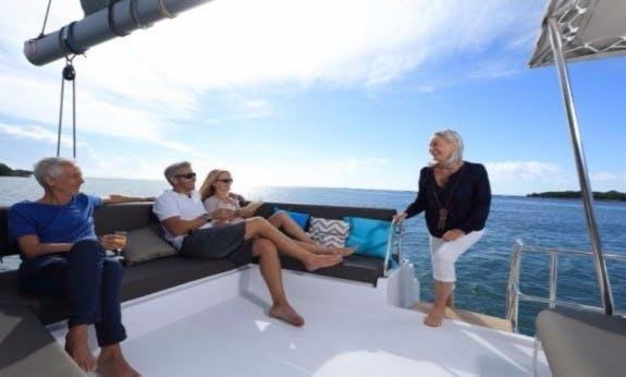 Nautitech 46 Fly O.V. Cruising Catamaran For Charter In British Virgin Islands