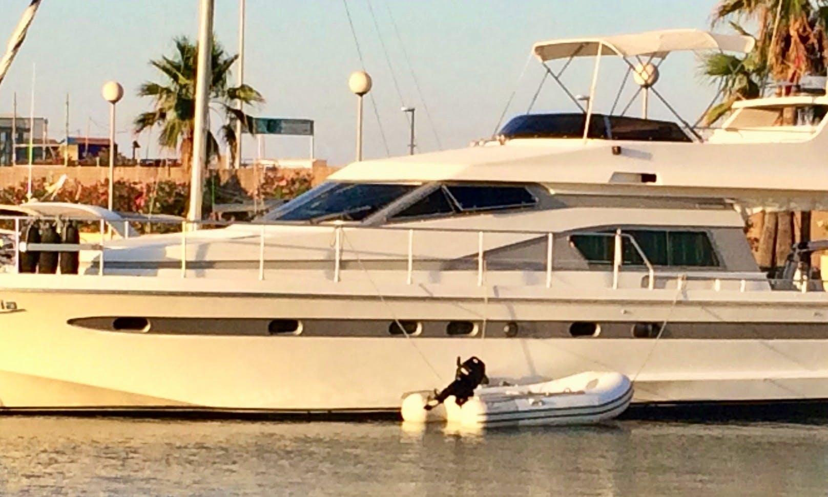 Motor Yacht rental in Denia