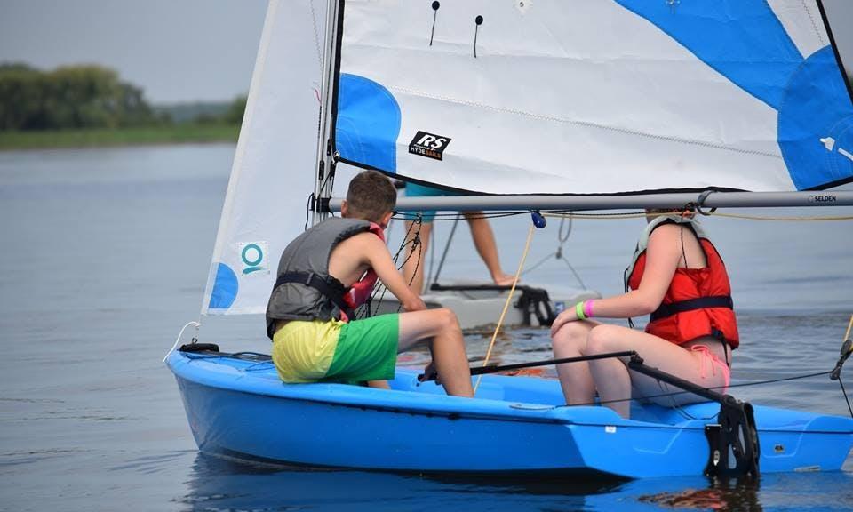 Sailboat Rental 2 to 4 People Capacity in Nyíregyháza, Hungary