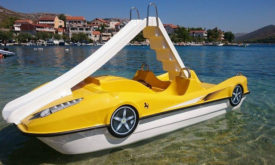 Enjoy Fun On The Water With Paddle Boats In Sibenik, Croatia!