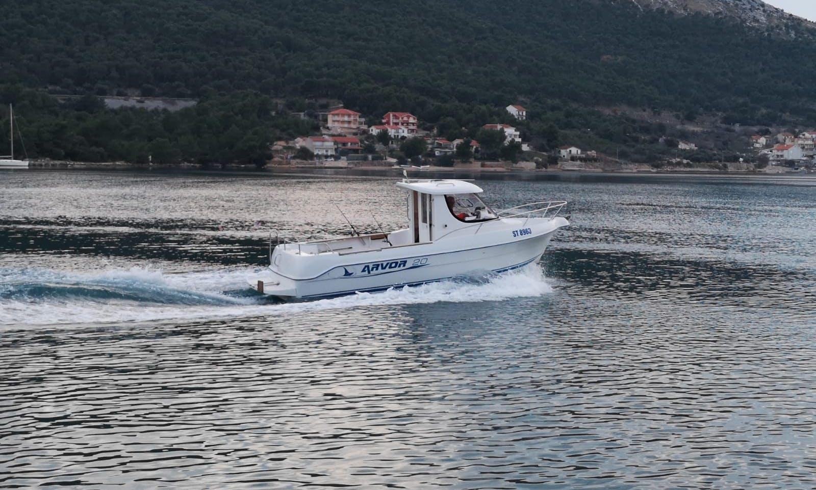 Aarvor 20 Cuddy Cabin Rental In Sibenik, Croatia
