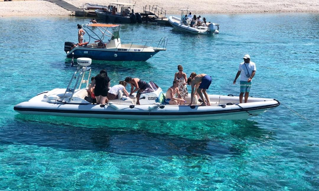 Private boat excursion!