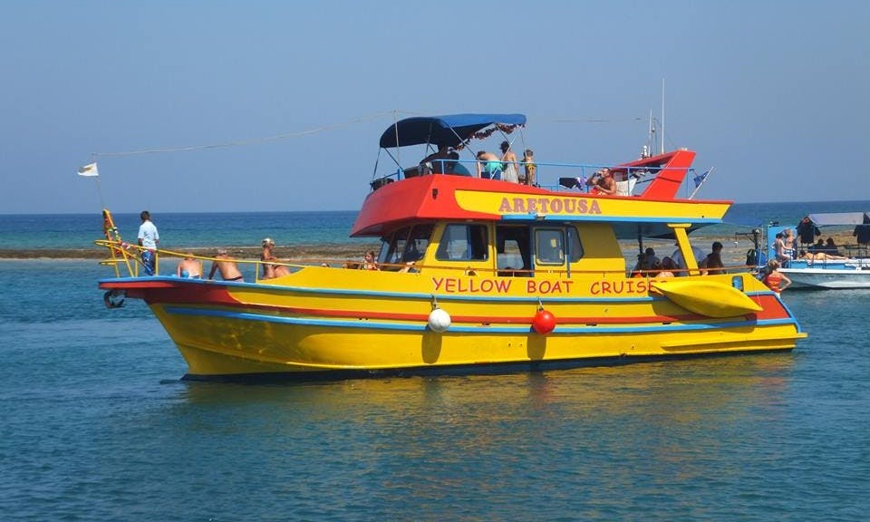 Boat tours in Vrysoudion, Cyprus