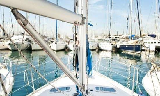 Affordable Charter on Oceanis 343 Cruising Monohull in Roses, Spain