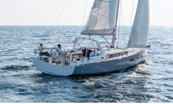 Oceanis 38 Sailboat to Cruise the Costa Brava