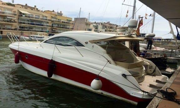 Dynamic and Seductive Monte Carlo 37 Motor Yacht in Empuriabrava