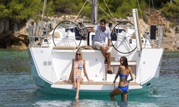 Dufour 460 Gl Cruising Monohull For Rental in British Virgin Islands for 12 person!