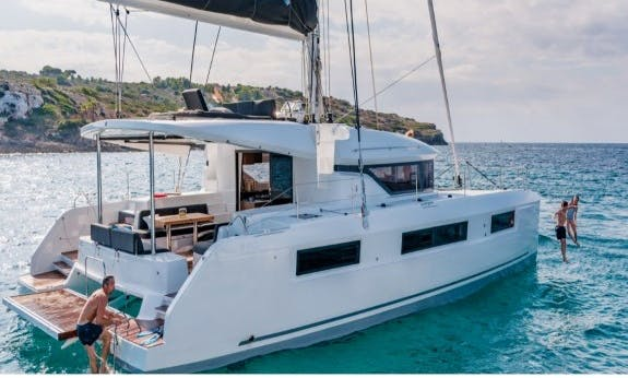 Charter The Lagoon 50 Cruising Catamaran With Watermaker In British Virgin Islands