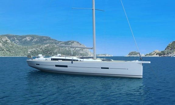 Explore British Virgin Islands On Dufour 520 Gl Cruising Monohull