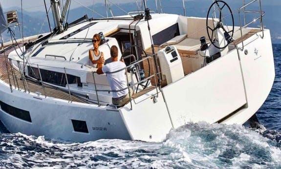 Sun Odyssey 490 Monohull for 11 Passengers in Pozzuoli, Italy