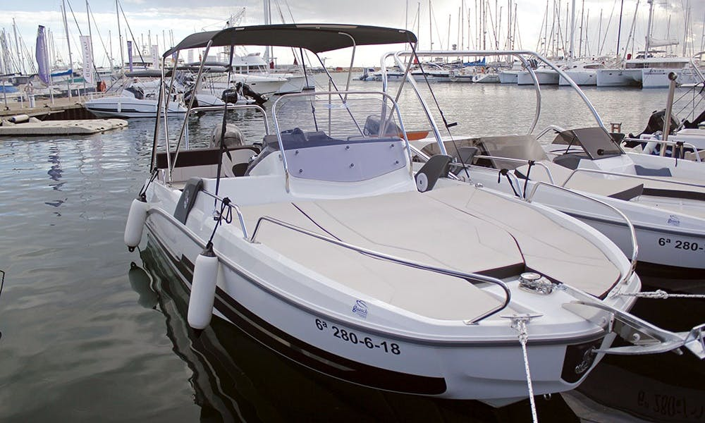 Navigate the New Flyer 6.6 Sundeck Boat in L'estartit, Spain