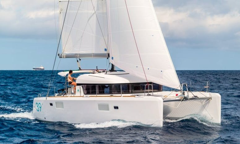 "Charter The 39ft ""Lady Stardust"" Cruising Catamaran In Primošten, Croatia!"