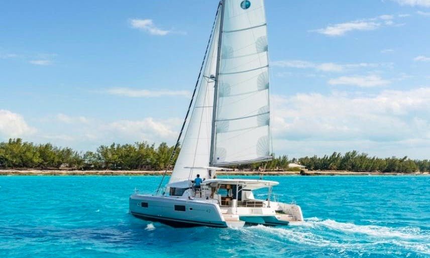 42' Lagoon Sailing Catamaran with A/C in Saint Vincent and the Grenadines