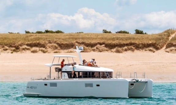 2015 Lagoon 40 Power Catamaran Rental in Noumea, New Caledonia