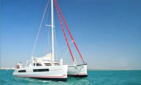 Go Sailing in Noumea, New Caledonia On 47' Catana Custom Cruising Catamaran!