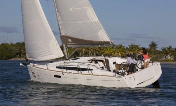 Amazing Sailing Trip In Portorosa, Sicily On Sun Odyssey 349 Cruising Monohull!