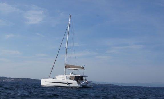 Explore The Portorosa, Sicily On Bali 4.5 Cruising Catamaran!