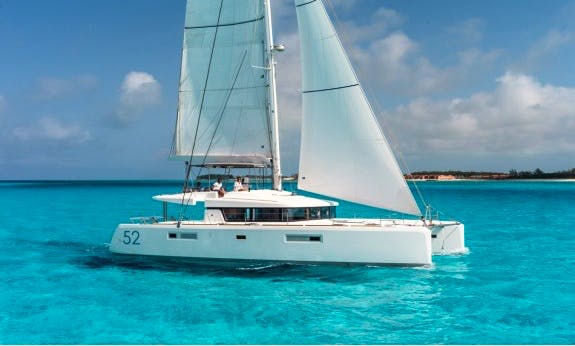 Lagoon 52 F with Watermaker and A/C in Antigua and Barbuda