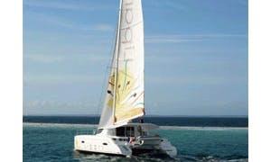 41' Lipari Cruising Catamaran for Island Getaway in Pointe-à-Pitre, Guadeloupe