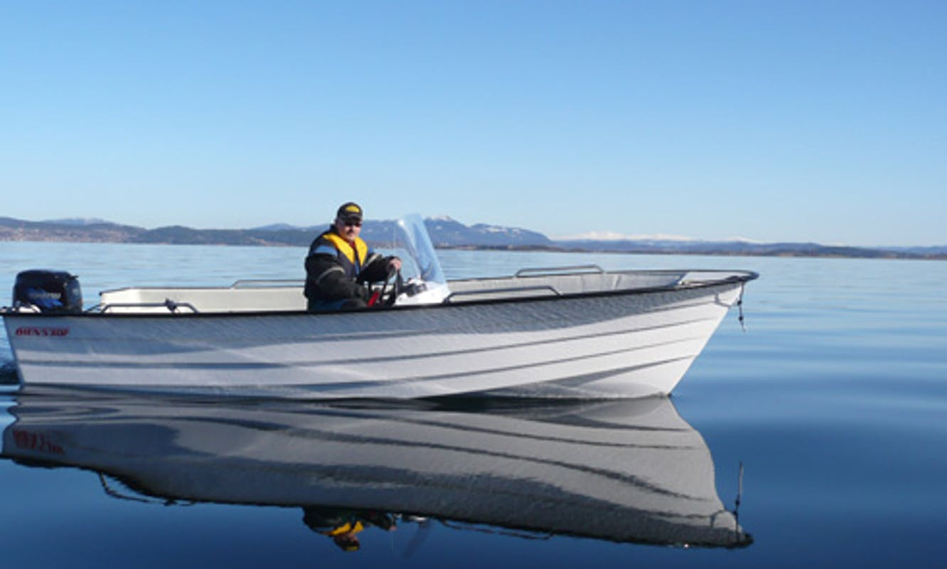17' Center Console for 4 People in Nord-Trøndelag, Norway