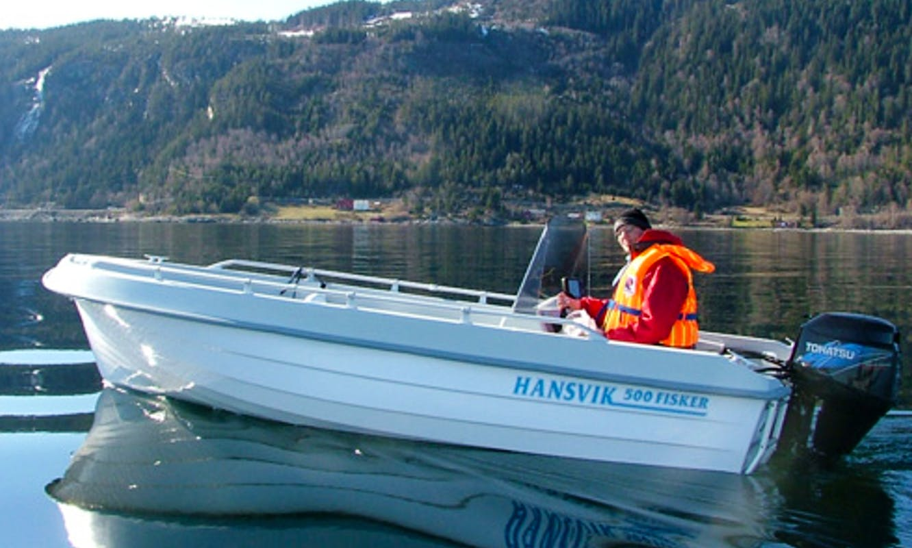 16ft Center Console for Rent in Nord-Trøndelag, Norway