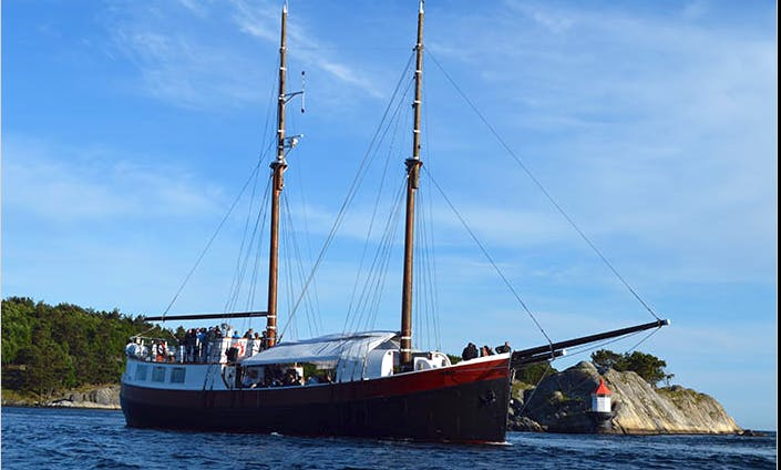 Wonderful Cruise Around The Waters Of Kristiansand, Norway On 82' Schooner