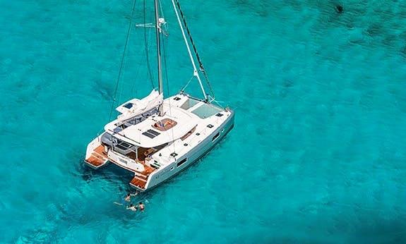 Crewed Charter on Lagoon 42 Sailing Catamaran in Saint George, Grenada
