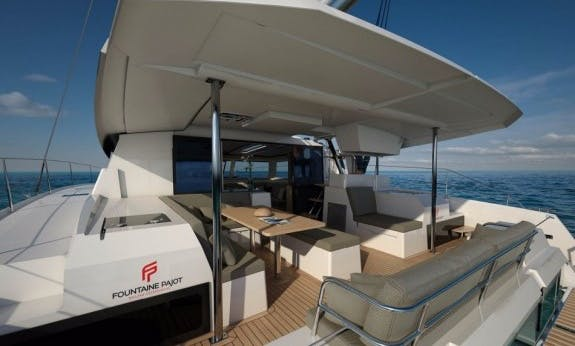 2019 Saona 47 Catamaran with Watermaker and A/C in Saint George