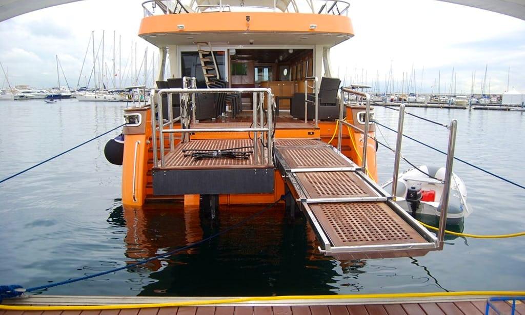 Wheelchair ramp Turkey Boat
