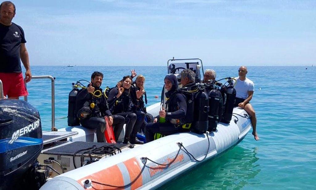 Scuba diving in Liguria