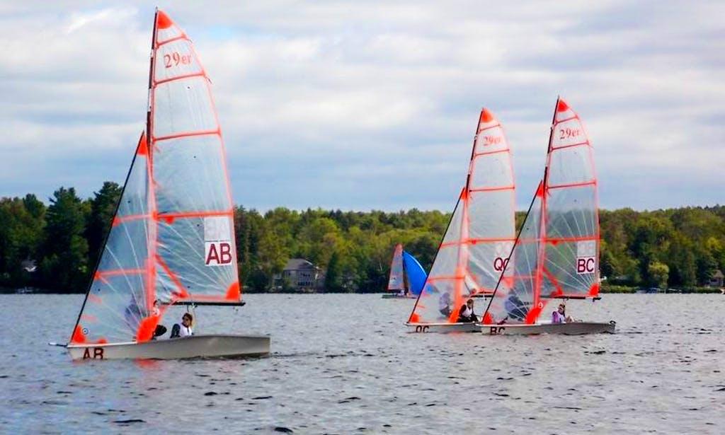 Sailing in Sherbrooke, Quebec