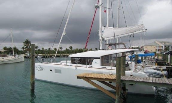 Lagoon 39 Cruising Catamaran with A/c in The Bahamas