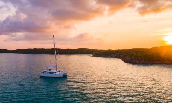 Travel with Lagoon 450 Cruising Catamaran with AC in Nassau, The Bahamas