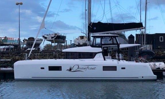 "2019 ""Ocean Front"" Lagoon 42 Cruising Catamaran with A/C In Nassau"