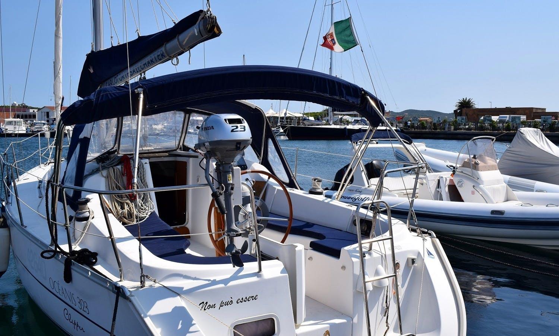 'Non Può Essere' Oceanis 323 Charter & Trips in Carloforte