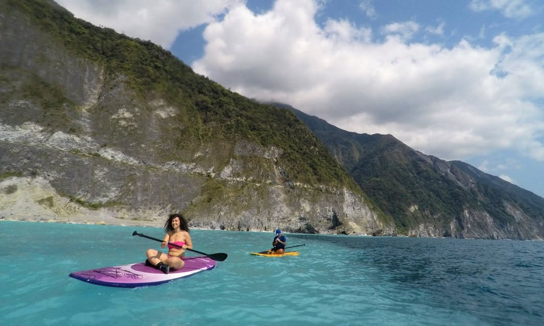 3 Hour Hualien Clear Water Cliff Paddle adventure in Taiwan!