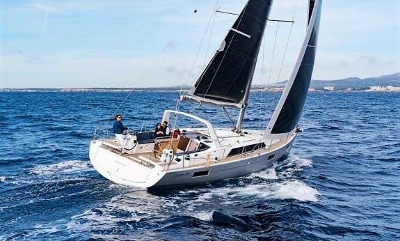 Charter The 2017 Oceanis 41.1 Cruising Catamaran In Olbia, Sardinia