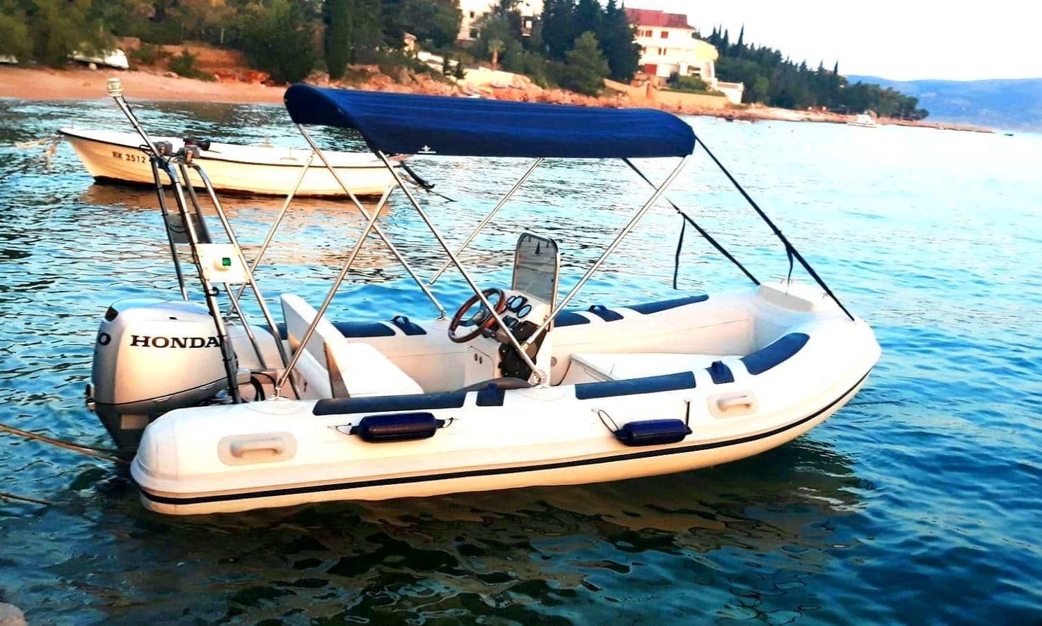 Rent The RIB Maestral 40hp In Starigrad, Croatia