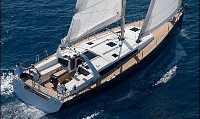 Sailing Holiday On Oceanis 48 Cruising Monohull In Olbia, Sardinia