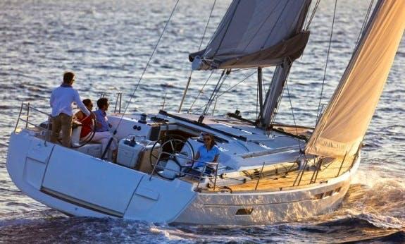 51' Sun Odyssey Cruising Monohull Charter In Olbia, Sardinia
