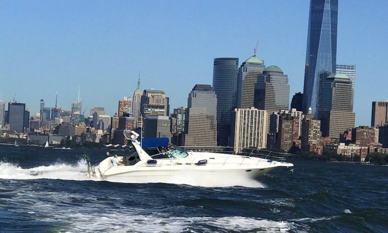 Enjoy a beautiful day on the water around NYC