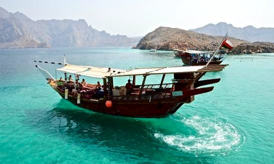 Traditional Omani Dhow Boat Cruises on the Historical Telegraphic Island