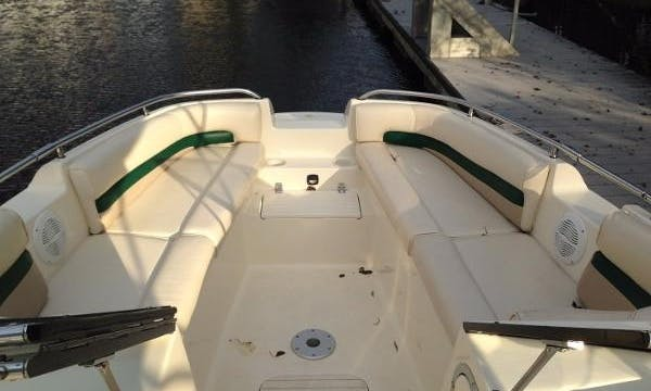 22' Stingray Deck Boat in Myrtle Beach