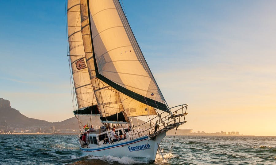 Esperance Sailing Schooner for private charter in Cape Town
