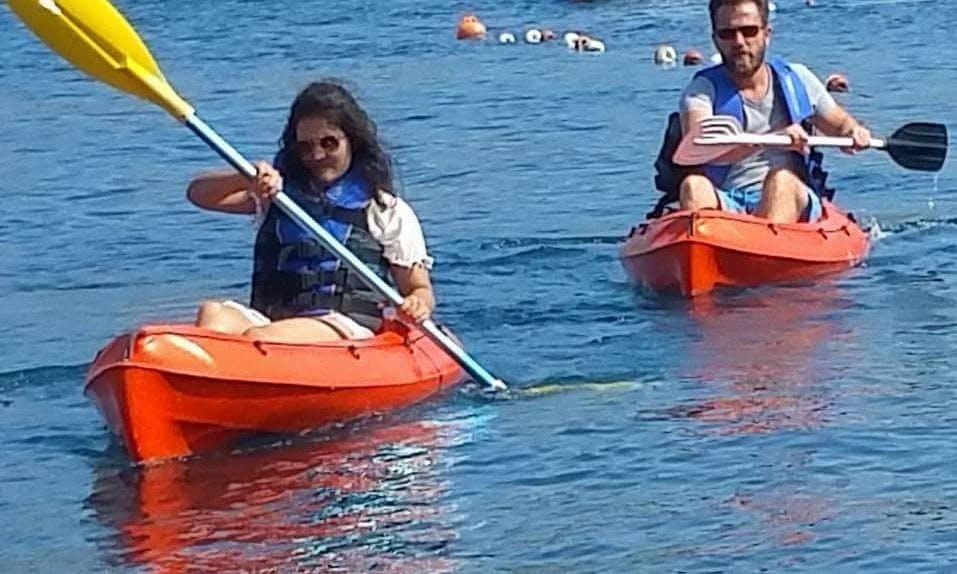Single Kayak in Muğla, Turkey