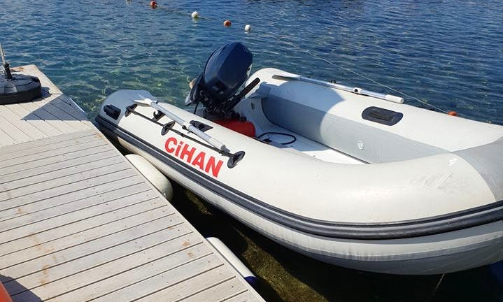 Inflatable Dinghy for Rent in Muğla, Turkey
