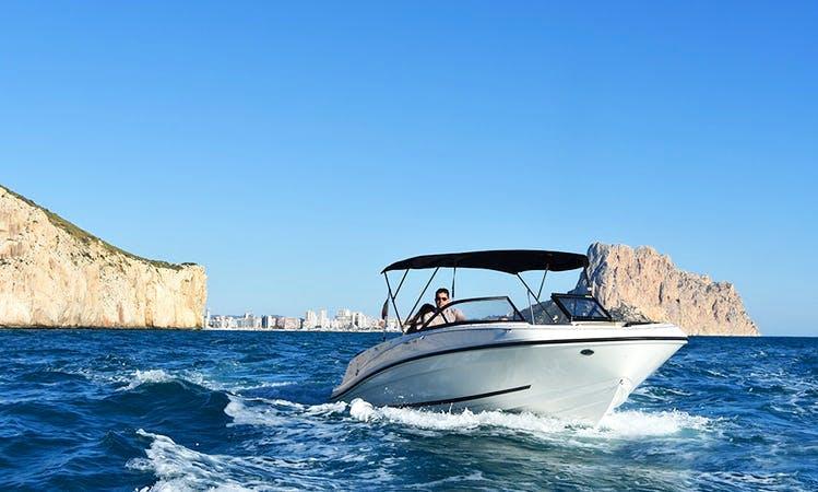 Rent the 23' Bayliner Powerboat in Altea, Spain