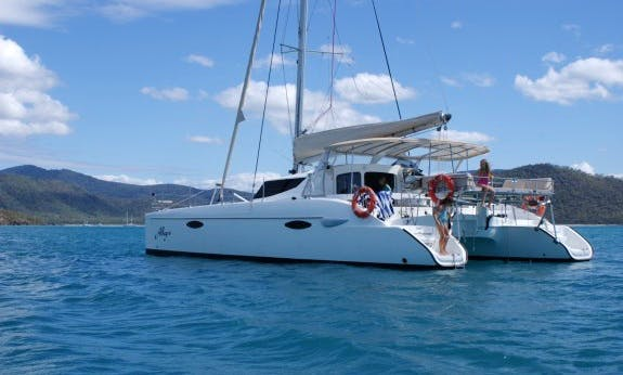 Book The Lavezzi 40 Cruising Catamaran In Queensland, Australia