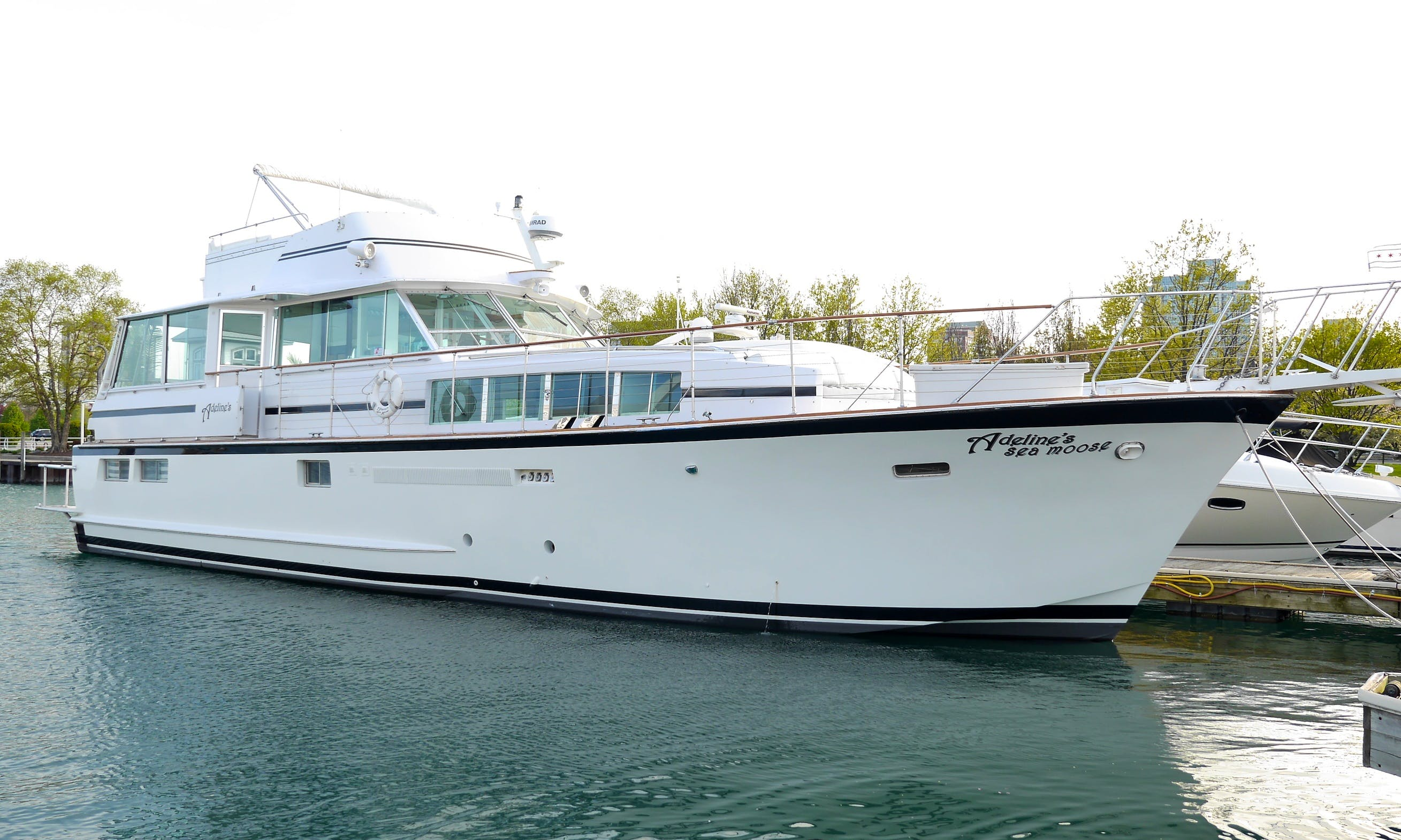 Adeline's Sea Moose, Most Luxurious Private Yacht Charters in Chicago, 68'