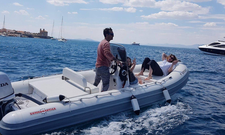 Rent 6 People Gommonautica G48C RIB in Alicante, Spain